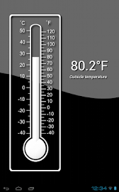 Thermometer (+StatusBar +Wear) Screenshot 12