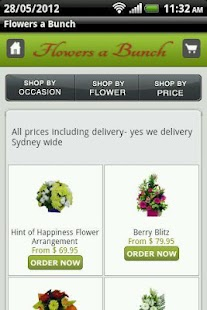 Flowers a Bunch Sydney Florist - screenshot thumbnail