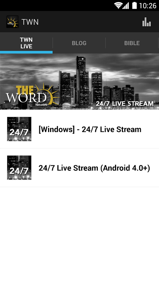 The Word Network- screenshot