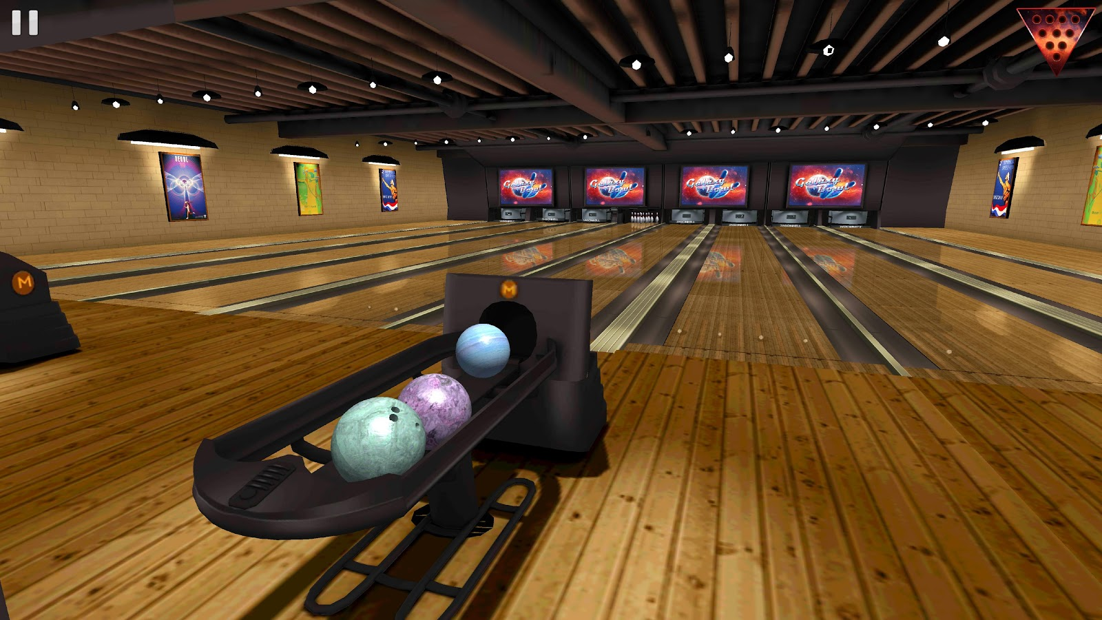 Galaxy Bowling 3d Hd Screenshot