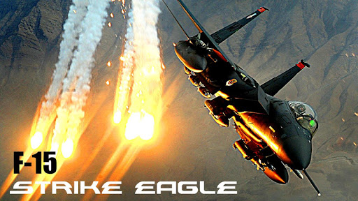 F-15 Strike Jet Fighter
