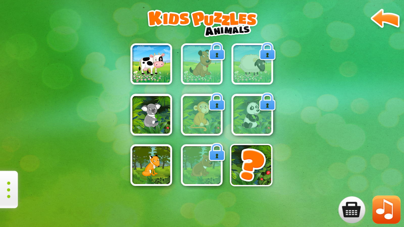 Kids Puzzle Games Animals Free - Android Apps on Google Play