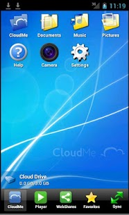 CloudMe - screenshot thumbnail