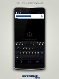 JB Extreme Blue CM12 CM11- screenshot thumbnail