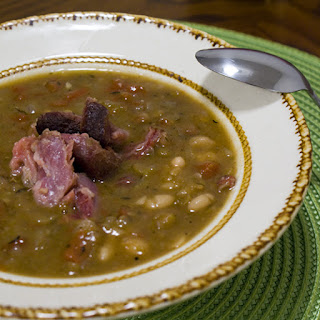 15 Bean Soup with Smoked Ham Hocks