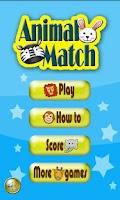 Screenshot of Animal Match