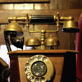 A Ring from the past by Anoop Namboothiri - Artistic Objects Antiques ( old, artistic, antique, telephone, classic,  )