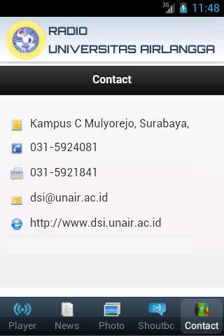 Radio UNAIR- screenshot