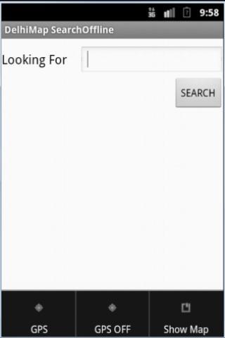 DelhiMap SearchOffline