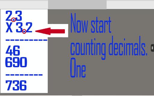 Multiplying Decimal Free