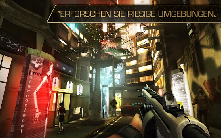 android Deus Ex: The Fall Screenshot 2