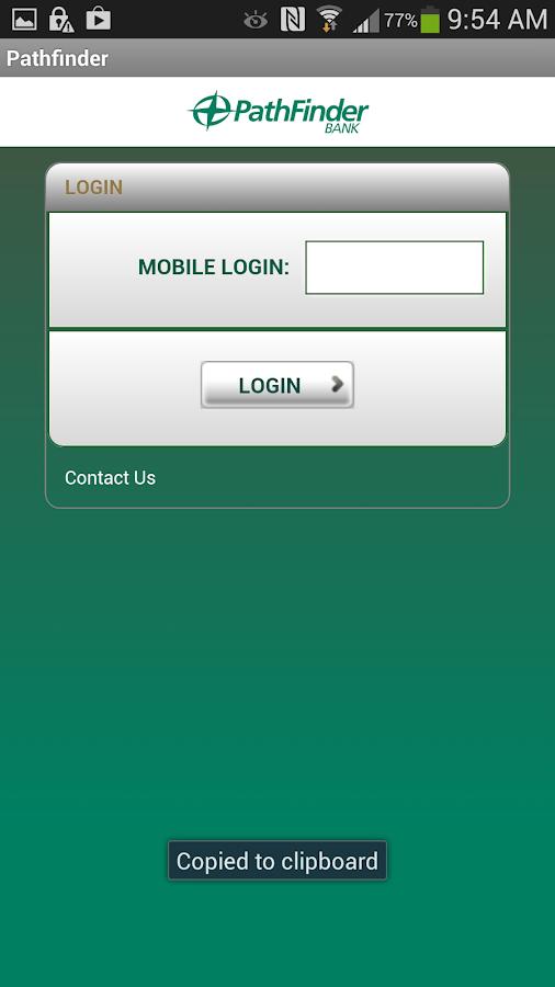 Pathfinder Bank- screenshot