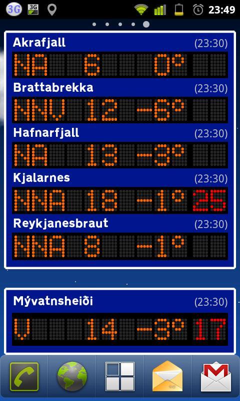 Veðrið- screenshot