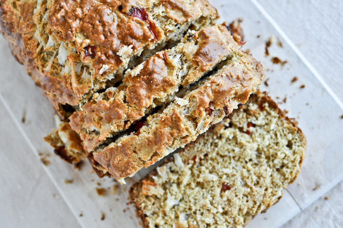 Savory Roasted Red Pepper + Parm Snack Bread Recipe