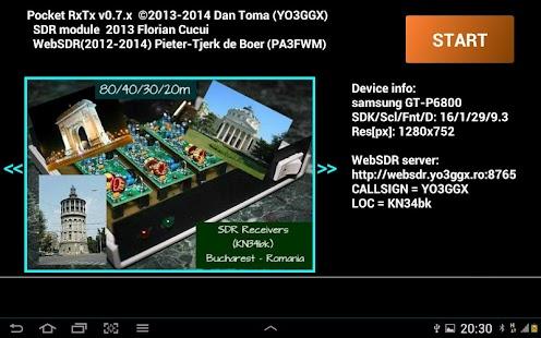 Pocket RxTx - screenshot thumbnail