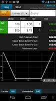 Screenshot of Option Strategies Calculator