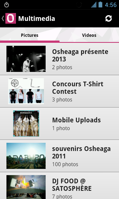 Osheaga Festival - screenshot