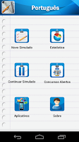 Screenshot of Português p/ Concursos Online