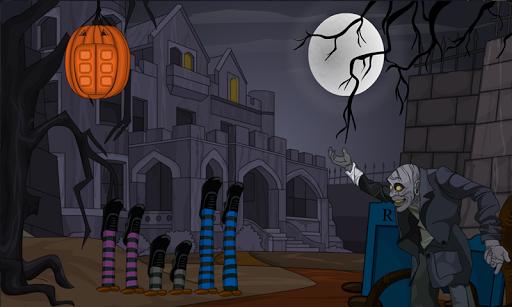 420-Halloween Palace Escape
