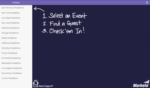 Marketo Events - screenshot thumbnail
