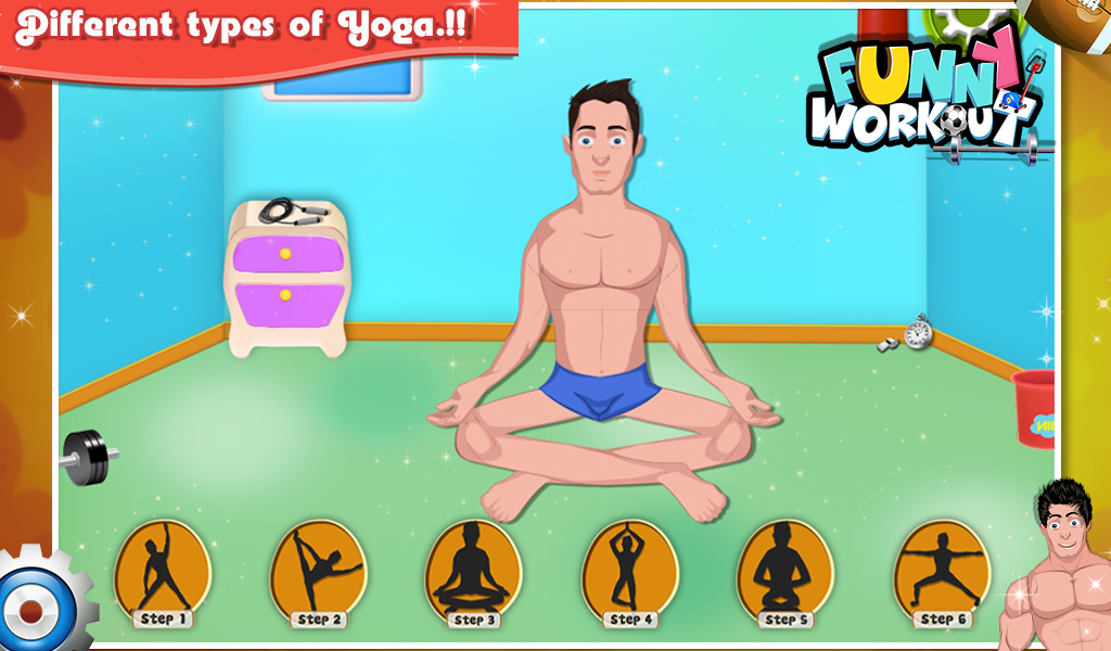 Funny Workout - Kids Game - screenshot
