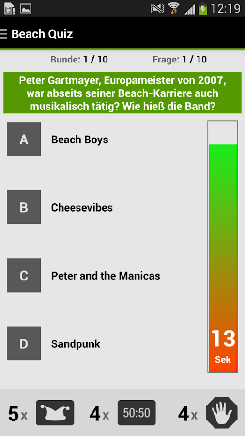 A1 Beach App - screenshot