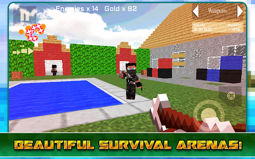 【免費動作App】Survival Games Block Island-APP點子