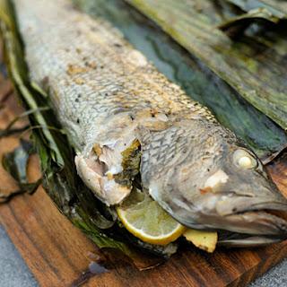 Stuffed Fish Wrapped in Banana Leaf Recipe