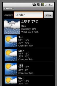Weather Temperature