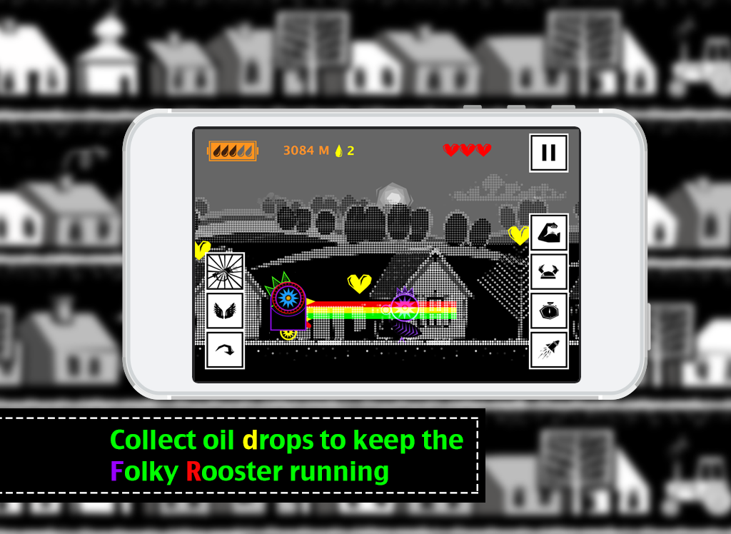 Robot Chicken - Run Boy Run !- screenshot