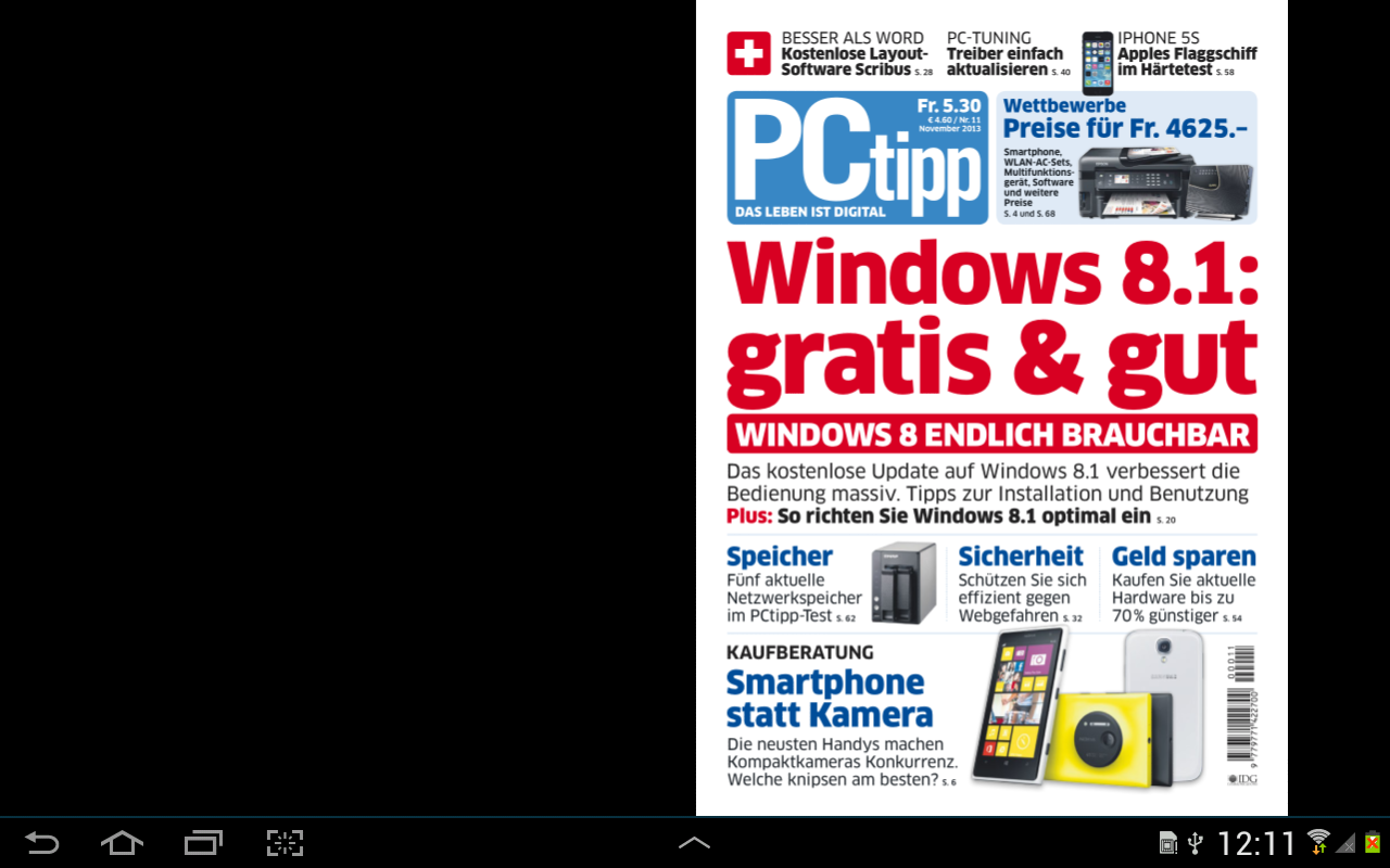 PCtipp E-Paper - screenshot