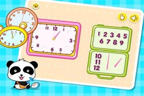 Babys Learning Clock - BabyBus - screenshot thumbnail