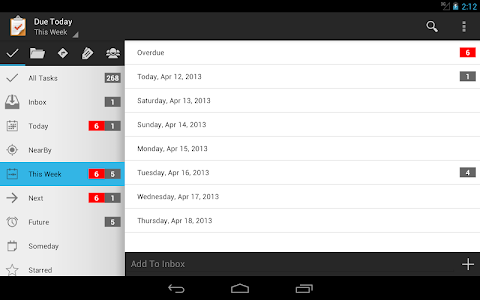 Due Today Tasks & To-do List v2.1.14.728