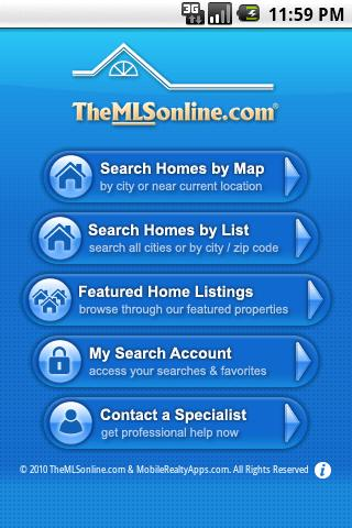 WA Homes - TheMLSonline.com - screenshot