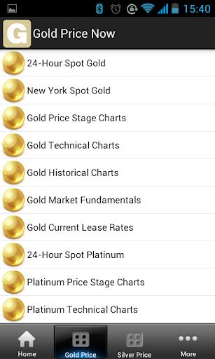 【免費財經App】黃金價格現在免費-APP點子