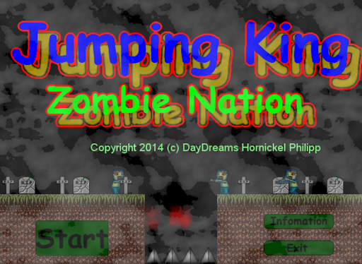 Jumping King Zombie Nation