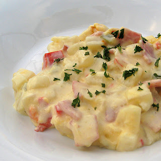 Ham and Cheese Potato Casserole.