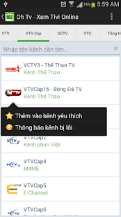 OhTv - Xem Tivi trực tuyến