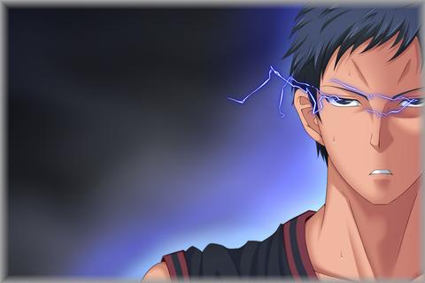 ★黒子のバスケ 黒バス★青峰大輝(あおみねだいき)イラスト画