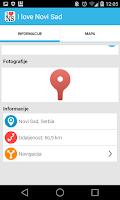 Screenshot of I love Novi Sad