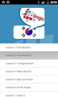 Screenshot of L-Lingo Learn Korean Pro