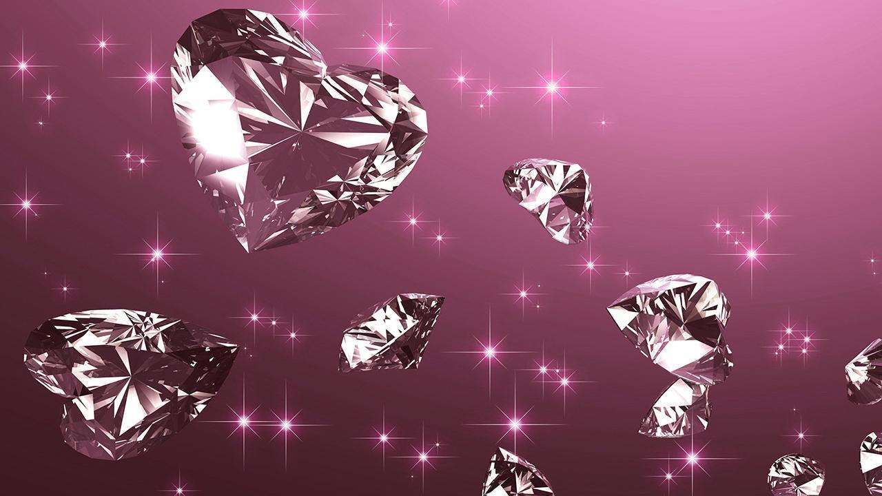 wallpaper diamantes rosas
