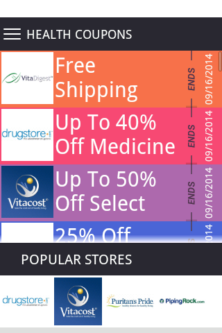 Health Fitness Coupons