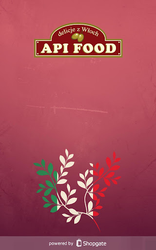 API Food Sklep Kuchnia-Włoska