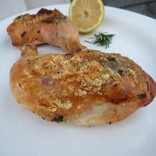 Best Ever Roast Chicken Legs.