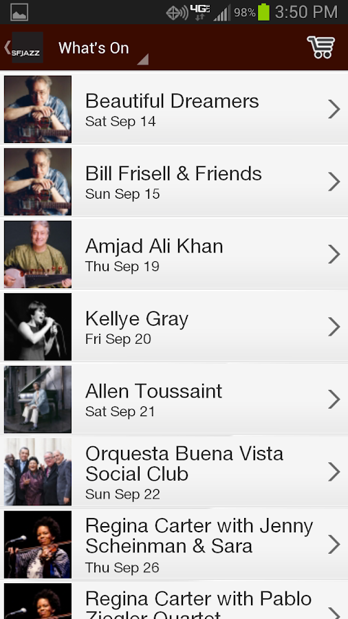 SFJAZZ - screenshot
