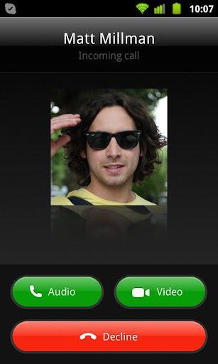 Fingerprint Video Calling New