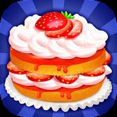 Strawberry Cake - Crazy Bakery
