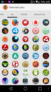 Round Icon Pack Theme- screenshot thumbnail