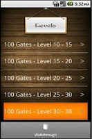 Screenshot of 100 Gates Guide